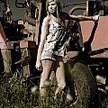 On The Farm At Dusk by Jorgo Photography - Wall Art Gallery
