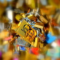 One Life One Love Padlock by Carla Parris