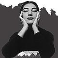 Opera Singer Maria Callas  Cecil Beaton Photo No Date-2010 by David Lee Guss