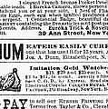 Opium Habit Cure, 1876 by Granger