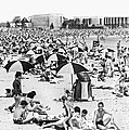 Orchard Beach In The Bronx by Underwood Archives