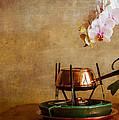 Orchid And Copper Fondue by Brian Roscorla