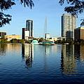 Orlando Fl Skyline by Frank Selvage