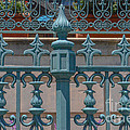 Ornate Fence by Dale Powell