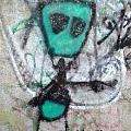 Other People's Art - Graffiti On The Berkeley Pier by Scott Lenhart