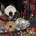 Outdoor Shop Sells Fake Chinese Antiques by Yali Shi