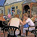 Outside Seating by Ann Horn