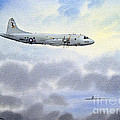 P-3 Orion by Bill Holkham