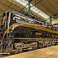 Pa Diesel Electric 4935 by Paul W Faust -  Impressions of Light
