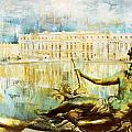 Palace And Park Of Versailles by Catf