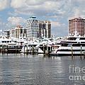 Palm Beach Docks by Bill Cobb