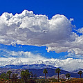 Palm Desert Clouds by Richard Risely