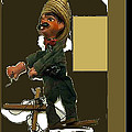 Pancho Villa Puppet by David Lee Guss