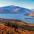 Panorama Of Fish Lake Yukon Territory Canada by Stephan Pietzko