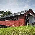 Paper Mill Covered Bridge by Ray Summers Photography