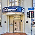 Paramount Movie Studio Hollywood Ca by David Zanzinger
