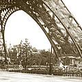 Paris Exposition Eiffel Tower Paris France 1900  Historical Photos by California Views Archives Mr Pat Hathaway Archives