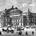 Paris Opera House, 1875 by Granger