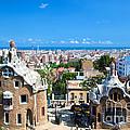 Park Guell In Barcelona by Michal Bednarek