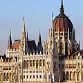 Parliament Building In Budapest by Artur Bogacki