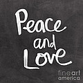 Peace And Love by Linda Woods