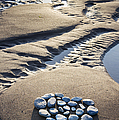 Pebble Beach Heart by Tim Gainey