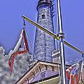 Pensacola Lighthouse by Richard P Davis