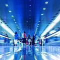 People Rush In Subway by Michal Bednarek