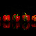 Pepper Reflections 2 by Linda Mcfarland