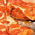 Pepperoni Pizza by Jeffrey Banke