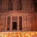 Petra By Night by Alexey Stiop