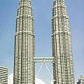 Petronas Twin Towers In Malaysia by Tuimages