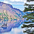 Phantom Ship Overlook In Crater Lake National Park-oregon by Ruth Hager