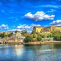Philadelphia Water Works And Art Museum 1 by Constantin Raducan