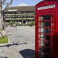Phone Box London by David Pyatt