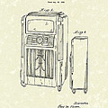 Phonograph Cabinet 1938 Patent Art by Prior Art Design