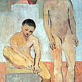 Picasso's Two Youths by Cora Wandel
