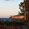 Pictured Rocks At Sunset by Teresa McGill