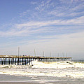 Pier At Nags Head  by M Bleichner