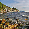 Pillar Rock In Cape Breton Highlands Np-ns by Ruth Hager
