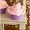 Pink Cupcakes by Edward Fielding
