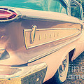 Pink Ford Edsel  by Edward Fielding