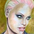 Pink by Sandra Valentini