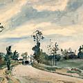 Pissarro Louveciennes by Granger