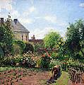 Pissarro's The Artist's Garden At Eragny by Cora Wandel