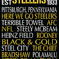 Pittsburgh Steelers by Jaime Friedman