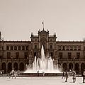 Plaza De Espana by Andrea Mazzocchetti