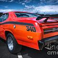 Plymouth Duster 340 by David B Kawchak Custom Classic Photography