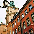 1 Pm In Stockholm by Marcus Dagan