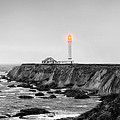 Point Arena Lighthouse by Rhonda Swanson
